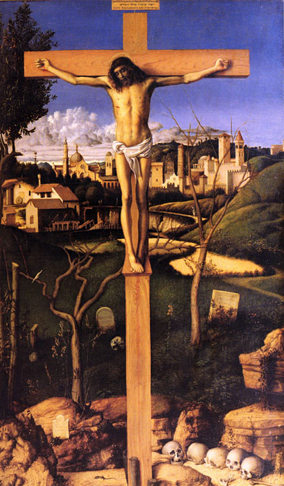 Giovanni Bellini Reproductions-The Crucifixion, 1501-1503