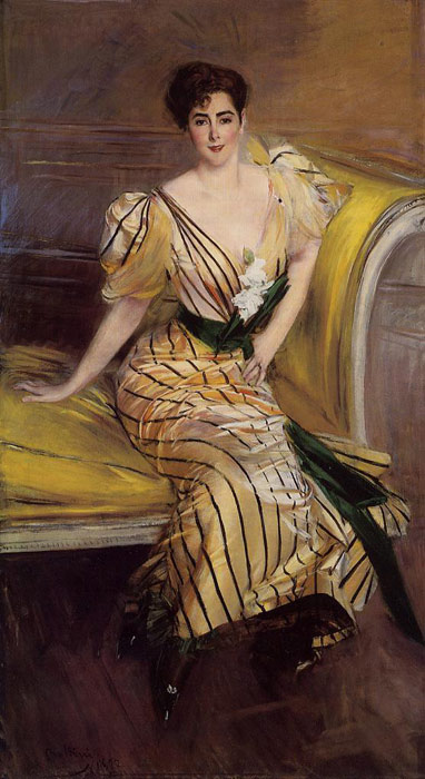 Paintings Reproductions Boldini, Giovanni Portrait of Madame Josephina Alvear de Errazuriz, 1892