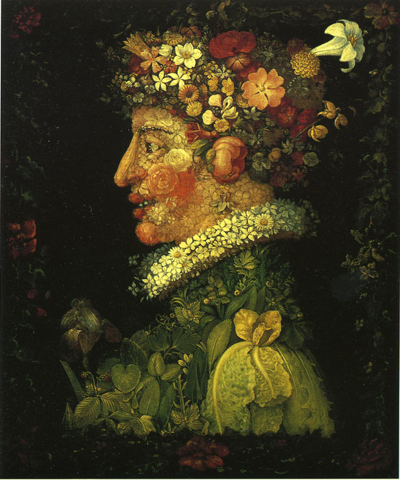 Paintings Giuseppe Arcimboldo