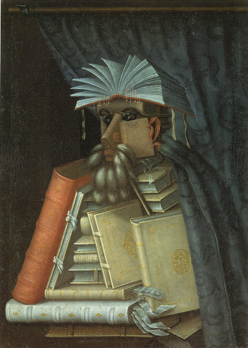 Giuseppe Arcimboldo Reproductions-The Librarian, 1566