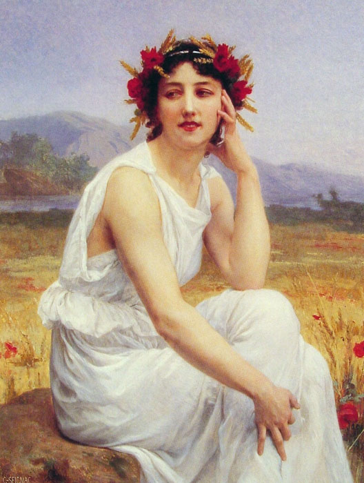 Guillaume Seignac Reproductions-The Muse