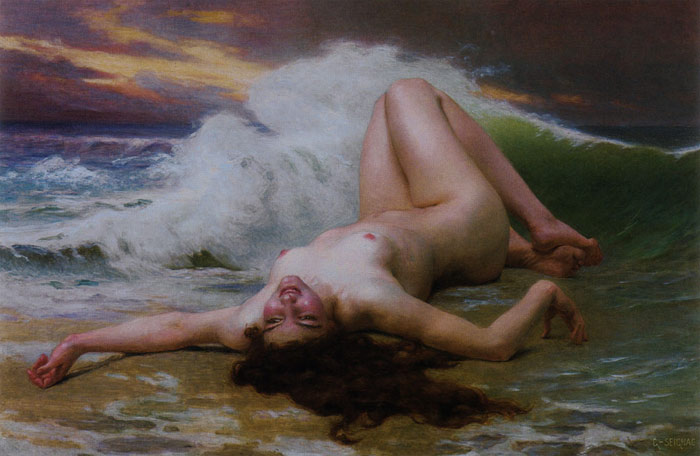 Guillaume Seignac Reproductions-The Wave