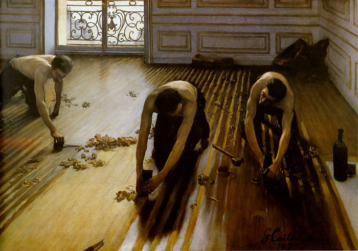Paintings Reproductions Caillebotte, Gustave The Floor Scrapers, 1875