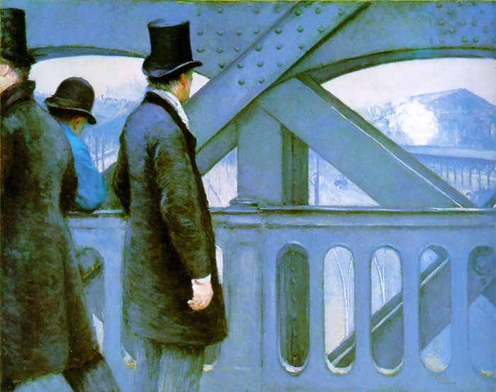 Paintings Reproductions Caillebotte, Gustave On the Europe Bridge, 1876-1877