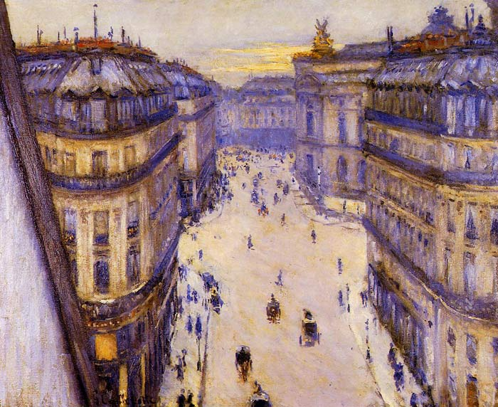 Paintings Reproductions Caillebotte, Gustave Rue Halevy, Seen from the Sixth Floor, 1878