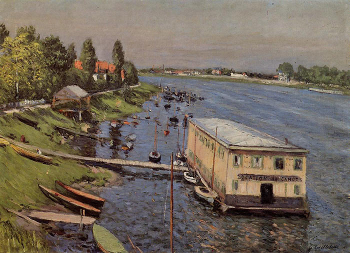 Paintings Reproductions Caillebotte, Gustave Boathouse in Argenteuil, 1886-1887