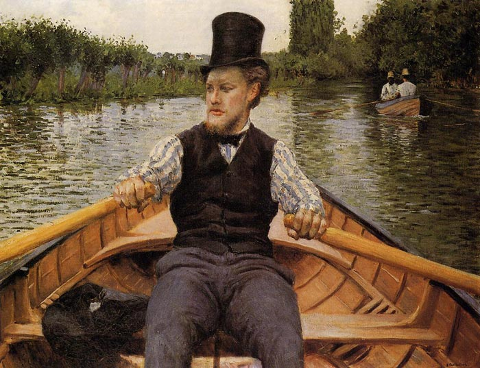Gustave Caillebotte Reproductions-Boating Party, 1877