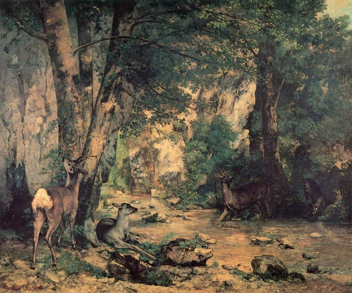 Paintings Courbet, Gustave