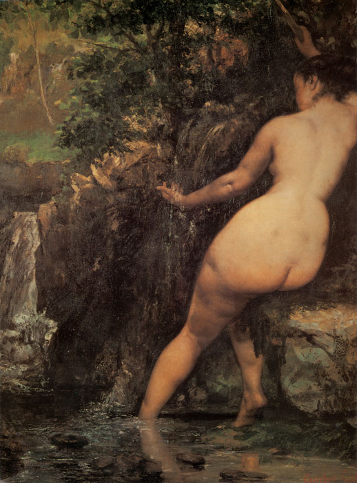 Paintings Reproductions Courbet, Gustave The Source, 1868
