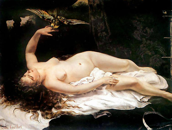 Paintings Gustave Courbet