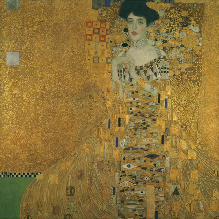 Paintings Reproductions Klimt, Gustave Portrait of Adele Bloch-Bauer, 1907