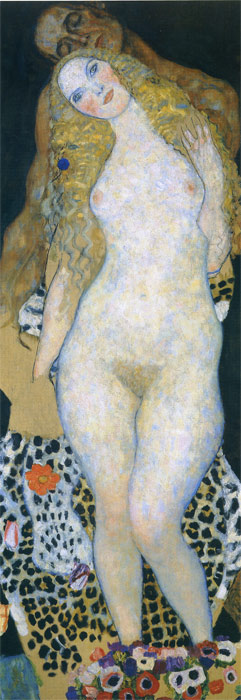 Gustave Klimt  Reproductions-Adam and Eve, 1917