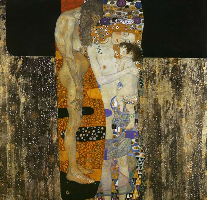 Paintings Reproductions Klimt, Gustave The Three Ages of Woman, 1905