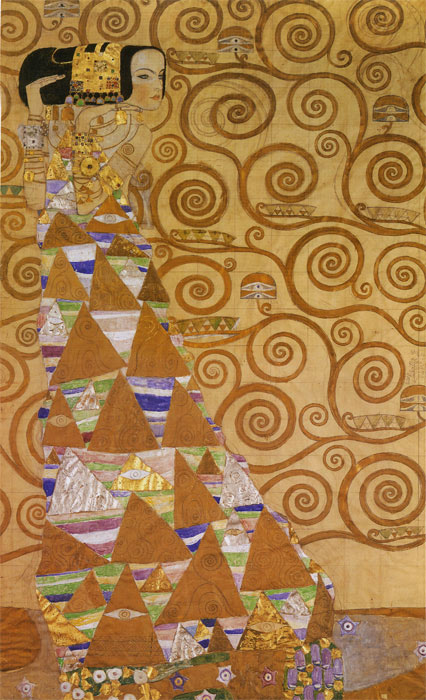 Paintings Reproductions Klimt, Gustave Expectation, 1905