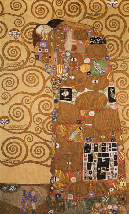 Gustave Klimt  Reproductions-Fulfillment, 1905