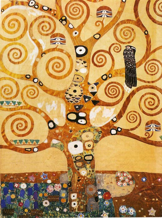 Gustave Klimt Reproductions-Tree of Life, 1905