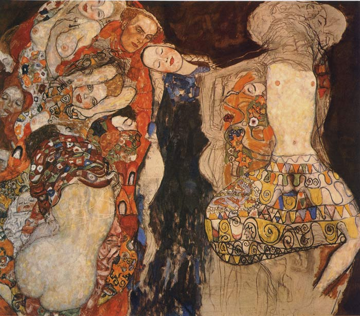 Gustave Klimt Reproductions-The Bride, 1917