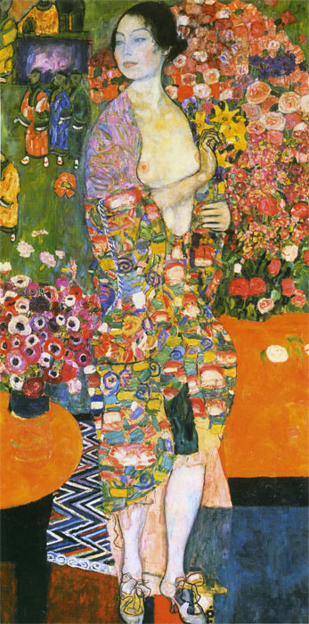 Gustave Klimt Reproductions-The Dancer, 1916