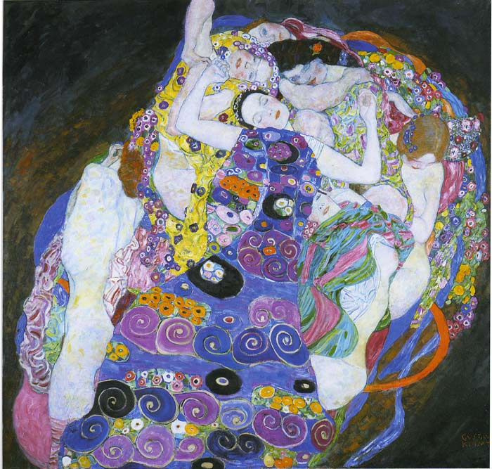 Gustave Klimt Reproductions-The Virgin, 1913