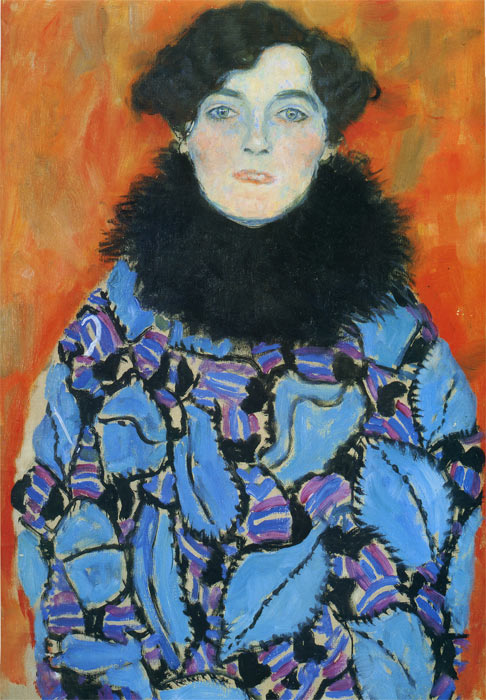 Gustave Klimt Reproductions-Portrait of Johanna Staude, 1917
