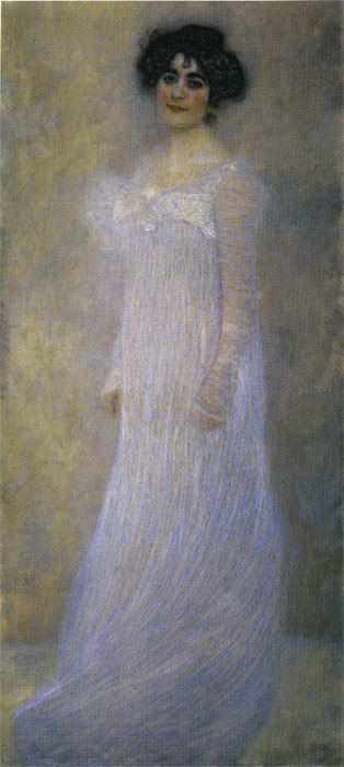 Paintings Reproductions Klimt, Gustave Portrait of Serena Lederer, 1899