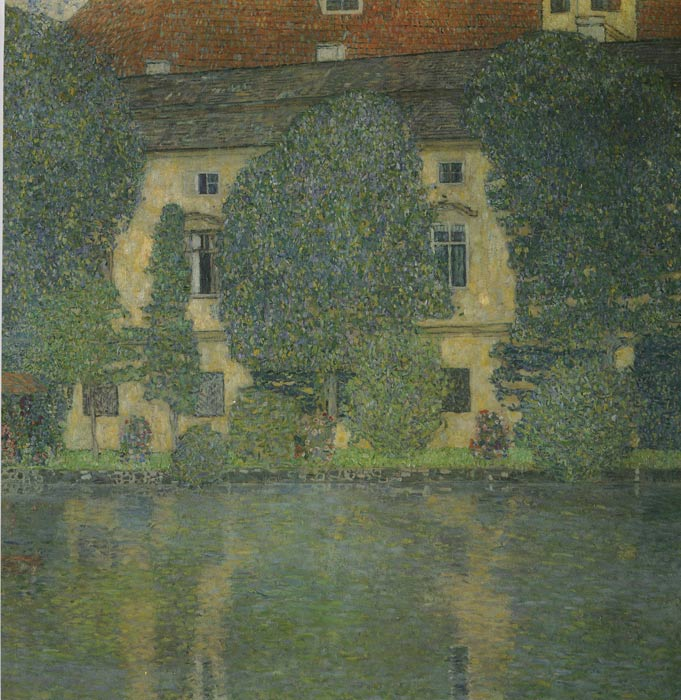 Paintings Reproductions Klimt, Gustave Scloss Kammer on the Attersee III, 1910