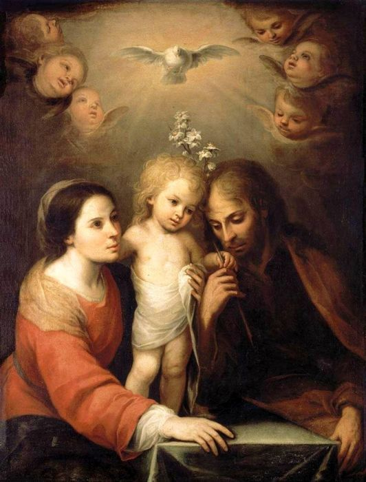 Paintings Reproductions Custom Paintings The Holy Family