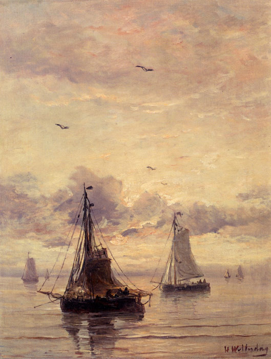 Paintings Hendrik Willem Mesdag