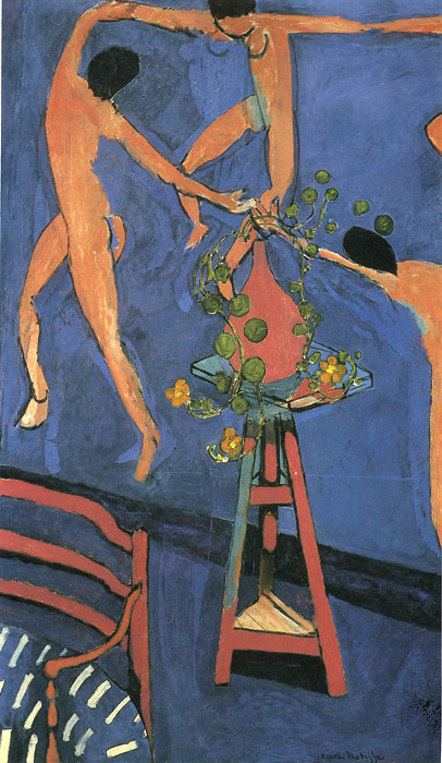 paintings matisse henri dance