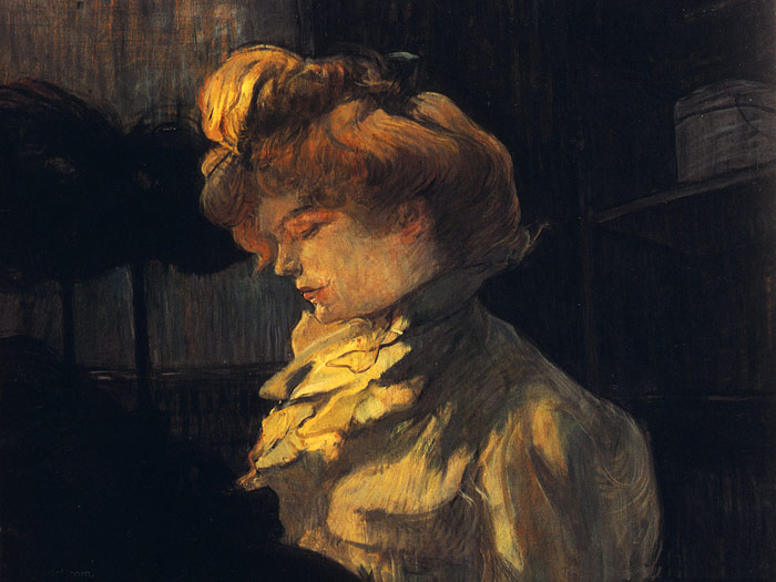 Henri de Toulouse- Lautrec Reproductions-The Milliner