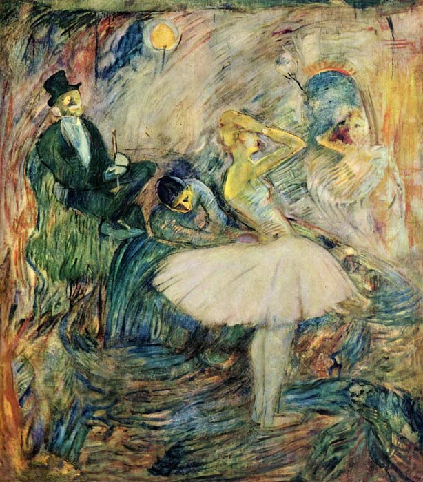 Henri de Toulouse- Lautrec Reproductions-The Dancer in Her Dressing Room , 1885