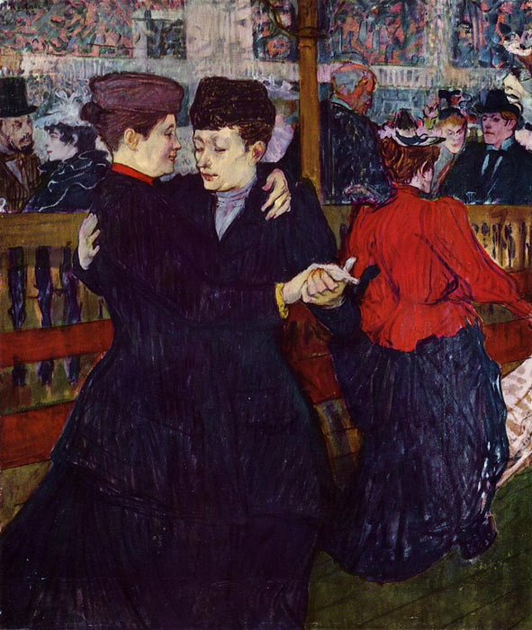 Toulouse lautrec paintings reproductions 1 - Toulouse lautrec au salon de la rue des moulins ...