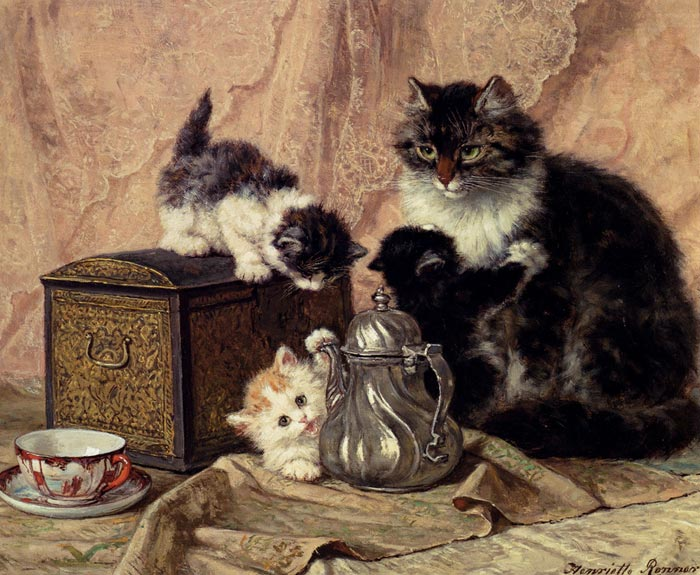 Paintings Henriette Ronner-Knip