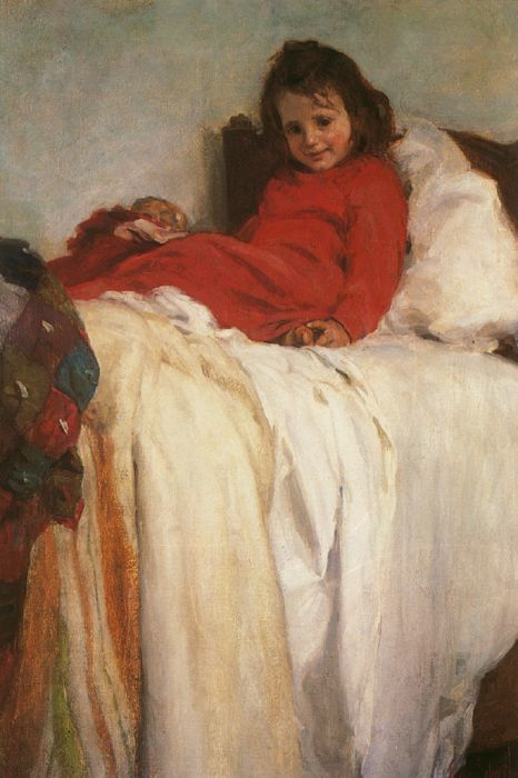 Henry Salem Hubbell Reproductions-Morning, 1902