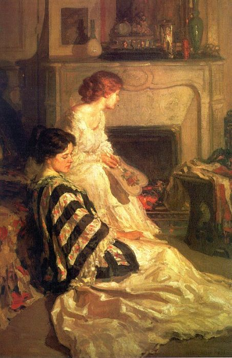 Paintings Henry Salem Hubbell