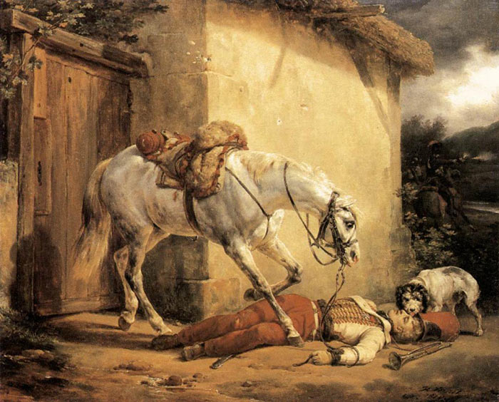 Paintings Horace Vernet