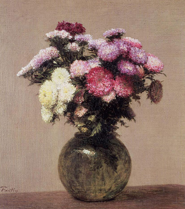 Paintings Fantin-Latour, Ignace-Henri- Theodore