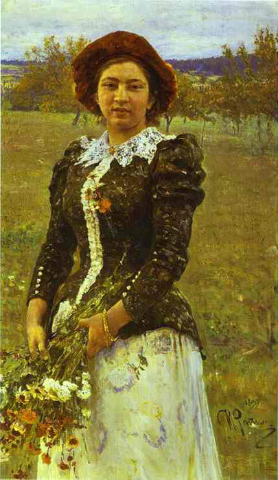 Paintings Iliya Efimovich Repin