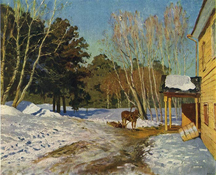 Isaac Ilyich Levitan Reproductions-March, 1895