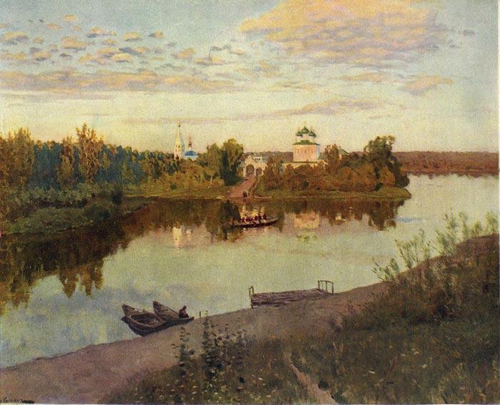 Paintings Isaac Ilyich Levitan