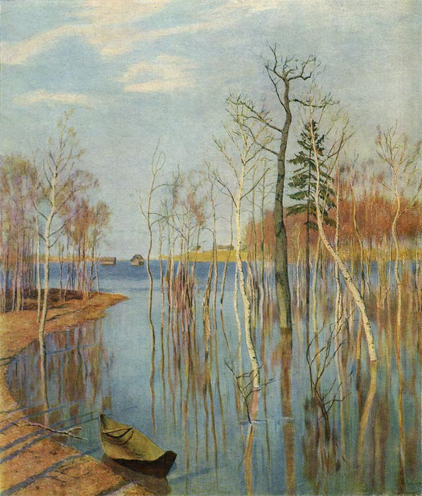 Isaac Ilyich Levitan Reproductions-Autumn, 1897