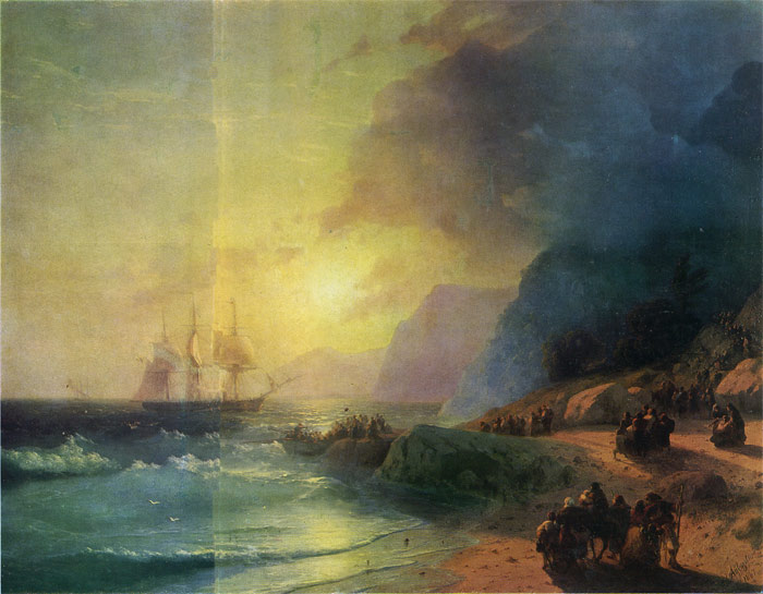 Paintings Reproductions Aivazovsky,  Ivan Constantinovich The Island of Crete, 1867