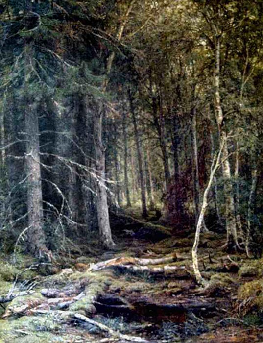 Ivan Shishkin Reproductions-In the Forest