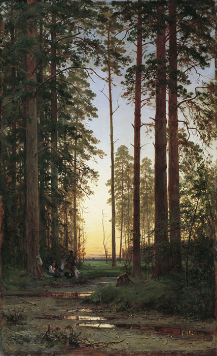 Paintings Ivan Shishkin
