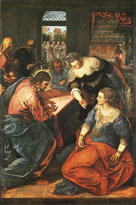 Paintings Jacopo Robusti Tintoretto