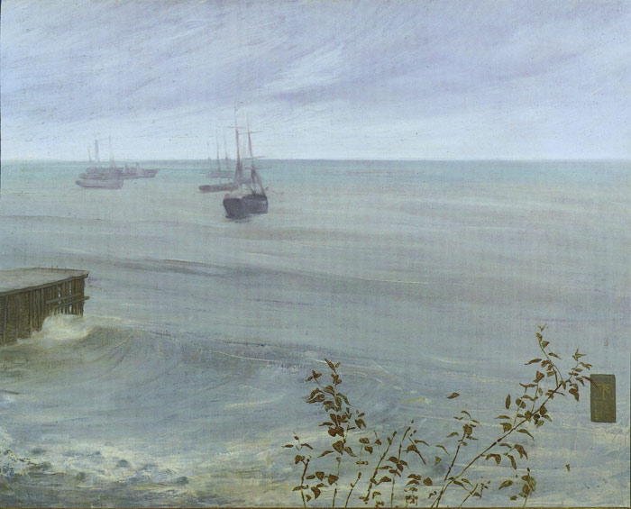 Paintings Reproductions Whistler, James Abbott McNeill The Ocean, 1866