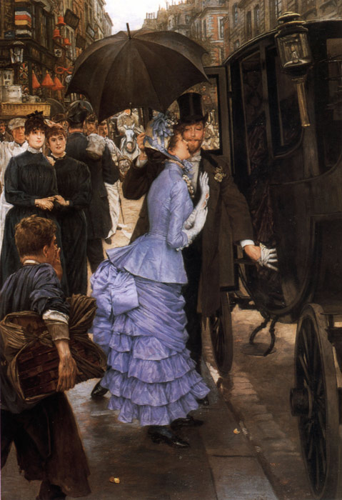 James Jacques Joseph Tissot Reproductions-The Traveller