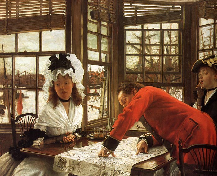 James Jacques Joseph Tissot Reproductions-An Interesting Story, c. 1872