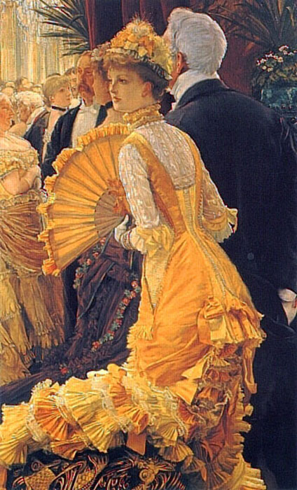 James Jacques Joseph Tissot Reproductions-The Ball