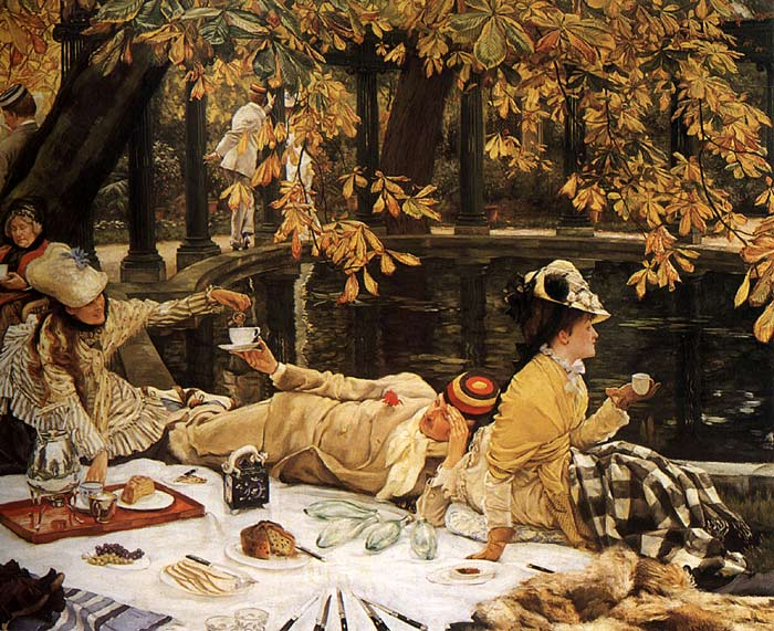 James Jacques Joseph Tissot Reproductions-Holyday